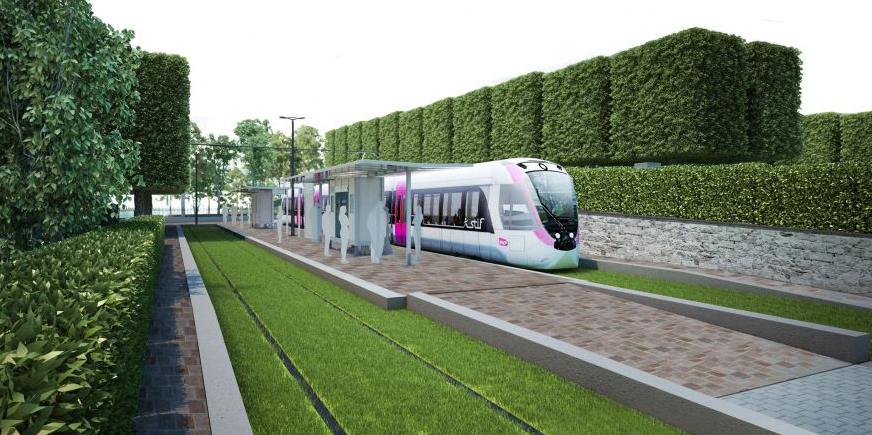 Le tramway TRAM 13