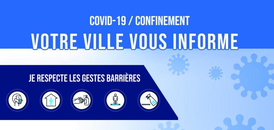 COVID 19 – Mesures sanitaires