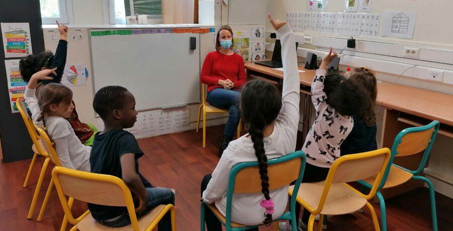 Apprentissage : une classe « allophone » à l'école Célestin-Freinet